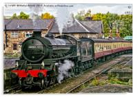Steaming out of Grosmont, Acrylic Print