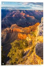Sunset in the Grand Canyon - Southern Rim, Acrylic Print