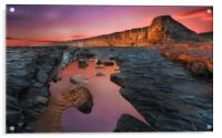 Nash Point South Wales, Acrylic Print