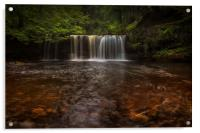 waterfalls of South Wales, Acrylic Print