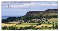 Typical North Wales countryside, Acrylic Print