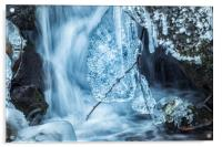 Ice and Water, No. 1, Acrylic Print
