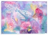 Dance of the Dragonfly, Acrylic Print