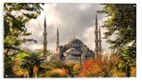 The Blue Mosque in Istanbul, Acrylic Print