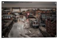 Old River Hull - SinCity Series, Acrylic Print