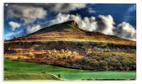 Autumn Gold - Roseberry Topping, Acrylic Print