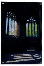 Chapter House Elgin Cathedral, Acrylic Print