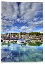 Padstow Harbour, Acrylic Print