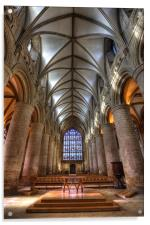 Gloucester Cathedral, Acrylic Print