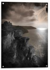 Spirits of Valley of The Rocks, Acrylic Print