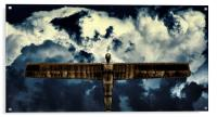 The Angel of the North, Acrylic Print