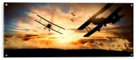 aerial battle first world war, Acrylic Print