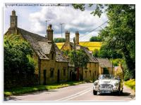 Yesteryear. The Cotswolds., Acrylic Print