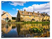 Lower Slaughter (The Cotswolds), Acrylic Print