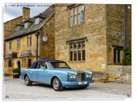 Luxurious Cotswolds , Acrylic Print
