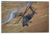 Apache Helicopter, Acrylic Print