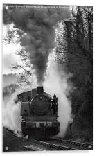 Letting off steam, Acrylic Print