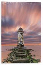 Deserted Lighthouse, Acrylic Print