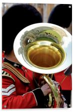Welsh Guards Band 3, Acrylic Print