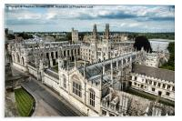 All Souls College - Oxford University, Acrylic Print
