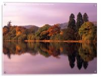 Coniston Colours, Acrylic Print