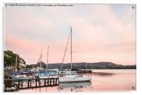 Ambleside Pier at Sunset, Acrylic Print