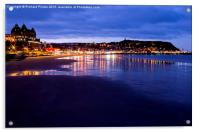South Bay, Scarborough North Yorkshire, Acrylic Print