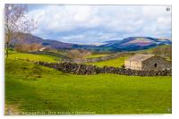 Swaledale, North Yorkshire., Acrylic Print