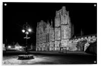 Wells Cathedral Somerset England, Acrylic Print