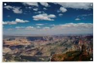 Point Imperial Grand Canyon, Acrylic Print