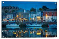 Evening Over Padstow, Acrylic Print
