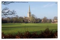 Norwich Cathedral Norfolk UK, Acrylic Print