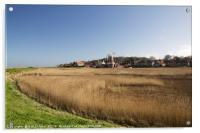 View of Cley Mill, north Norfolk, Acrylic Print