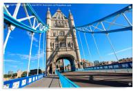 London, Tower Bridge, Acrylic Print