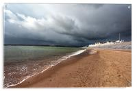 Storm over Exmouth, Acrylic Print