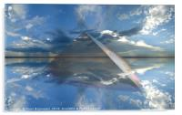 Faceted Sky, Acrylic Print
