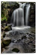 lumsdale water fall, Acrylic Print