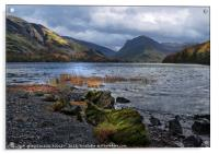 """""""Storm clouds gather at Buttermere"""", Acrylic Print"""