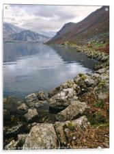 """Morning at Ennerdale Water"", Acrylic Print"