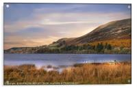 """""""Golden hour at Loweswater lake"""", Acrylic Print"""
