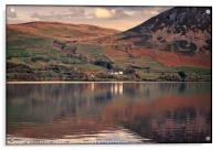 """Reflections at Ennerdale water 2"", Acrylic Print"