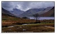 """March storms at Wastwater"", Acrylic Print"