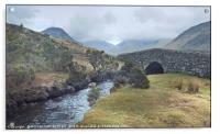 """""""Misty day in Wasdale valley"""", Acrylic Print"""