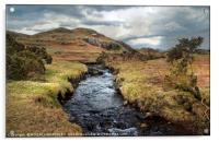 """Stormy skies over Wasdale valley"", Acrylic Print"