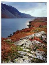 """""""Cool blue Wastwater"""", Acrylic Print"""