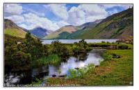 """"""" Reflections at Wastwater"""", Acrylic Print"""