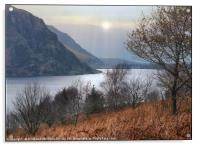 """Autumn mists at Ennerdale water"", Acrylic Print"
