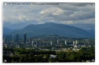 A beautiful cloudy day in Vancouver, Canada., Acrylic Print