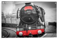 Flying Scotsman, Dent Station 9/7/2017, Acrylic Print