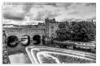 Pulteney Bridge - Bath, Acrylic Print